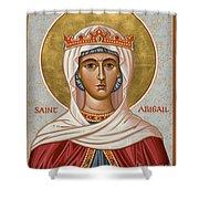 St. Abigail - Jcabi Shower Curtain