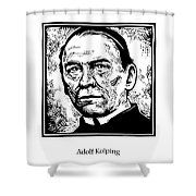 St. Adolf Kolping - Jladk Shower Curtain