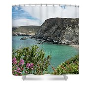St Agnes Coast Shower Curtain