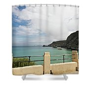 St Agnes To Holywell Shower Curtain