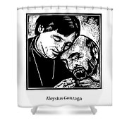 St. Aloysius Gonzaga - Jlalg Shower Curtain