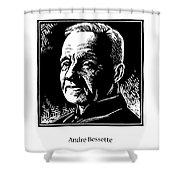 St. Andre Bessette - Jlanb Shower Curtain