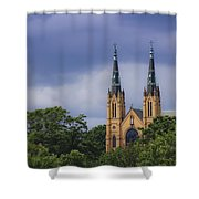 St Andrews Catholic Church Roanoke Virginia Shower Curtain
