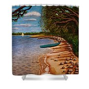 St Andrews State Park Panama City Florida Shower Curtain