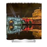 St Angel Castel Shower Curtain