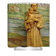 St Anthony Chapel Shower Curtain