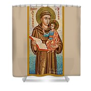 St. Anthony Of Padua - Jcapa Shower Curtain