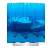 St. Anthony Wreck Shower Curtain
