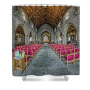 St Asaph Cathedral Shower Curtain