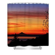 St Augustine At Sunset Shower Curtain