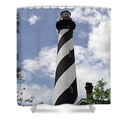 St Augustine Florida Light Shower Curtain