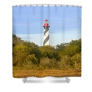 St. Augustine Light House Shower Curtain