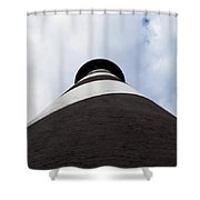 St. Augustine Lighthouse - From The Bottom Up Shower Curtain