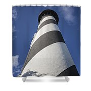St. Augustine Lighthouse 203 Shower Curtain