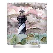 St Augustine Lighthouse Shower Curtain