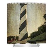 St Augustine Lighthouse Dsc00390_16 Shower Curtain