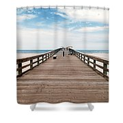 St. Augustine Pier Shower Curtain