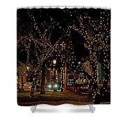 St. Augustinelights3 Shower Curtain by Kenneth Albin