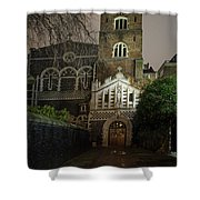 St Bartholomew The Great Church Shower Curtain