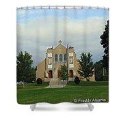 St. Basil's Church Utica, Ny Shower Curtain