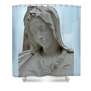 St Benedicts Painted Church 5 Shower Curtain