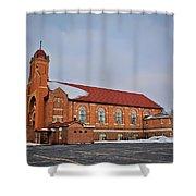 St Bernards Church Shower Curtain