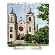 St. Cajetans Shower Curtain