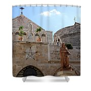 St Catherine Church Shower Curtain