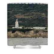 St Catherine's Lighthouse Shower Curtain