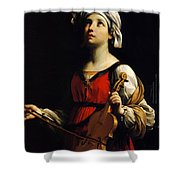 St Cecilia 1606 Shower Curtain
