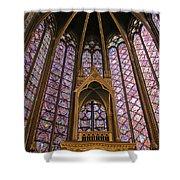 St Chapelle Paris Shower Curtain
