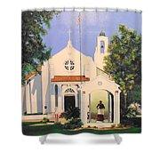 St. Charles Borromeo Church Shower Curtain