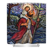 St. Christopher Shower Curtain