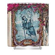 St Christovao -st Christopher Shower Curtain