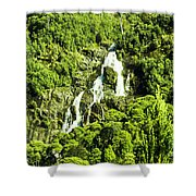 St Columba Falls Tasmania Shower Curtain
