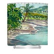 St. Croix Beach Shower Curtain