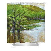 St. Croix, Spring Flood Shower Curtain