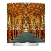 St Edward Interior Shower Curtain