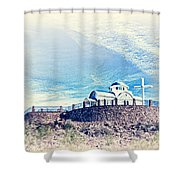 St. Elijah Chapel IIi Shower Curtain