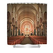 Saint Fidelis Shower Curtain