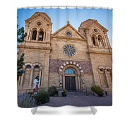 St. Francis Cathedral #2 Shower Curtain