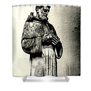 St. Francis In St. James Shower Curtain