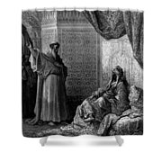 St Francis Of Assisi 1877 Shower Curtain