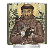 St. Francis Of Assisi - Rlfoa Shower Curtain