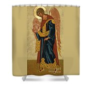 St. Gabriel Archangel - Jcagb Shower Curtain