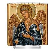 St. Gabriel Archangel - Jcarb Shower Curtain