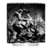 St. George And The Dragon Shower Curtain