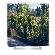 St. George Castle Shower Curtain