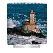 St. George Reef Light Shower Curtain