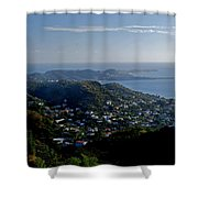 St. George's Grenada Shower Curtain